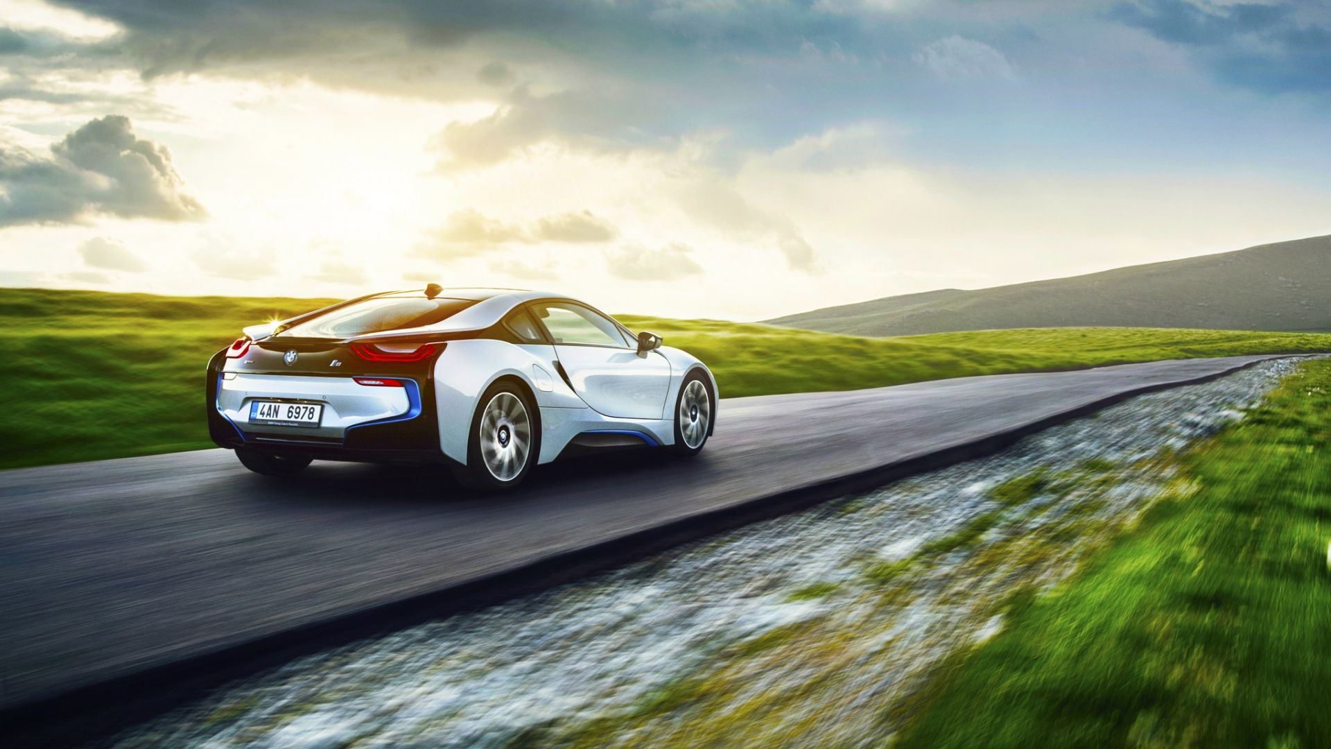 Bmw I8 Bmw Wallpapers Futuristic Car Wallpapers And