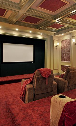 90 Home Theater Media Room Ideas Photos Home Theater Design