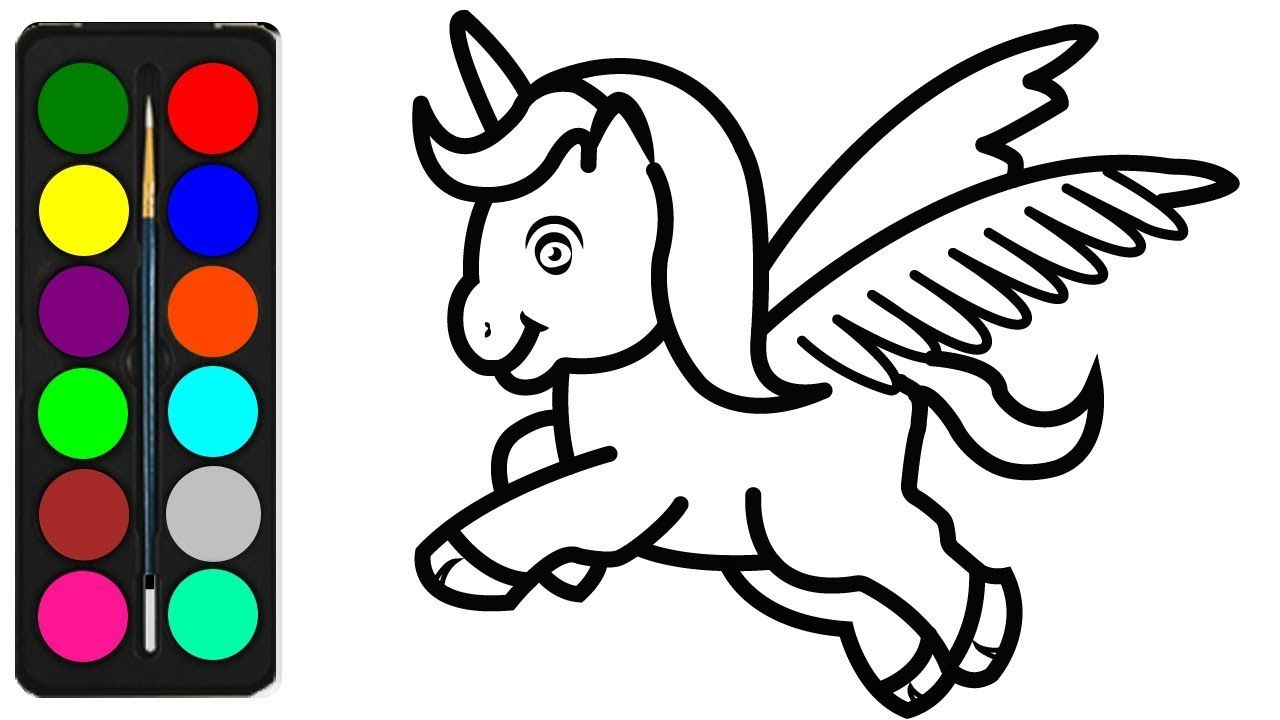 Coloring Unicorns Pictures Unicorn Coloring Pages For Kids Unicorns Coloring Book Fo Unicorn Coloring Pages Easy Drawings For Kids Coloring Pages For Girls