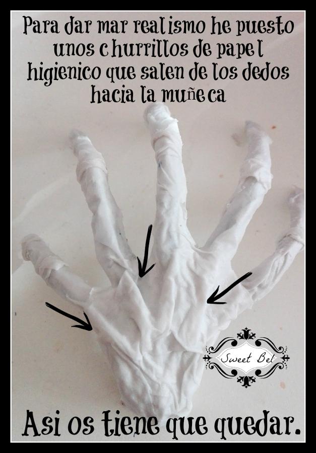 Cómo hacer una mano esqueleto. ¡Más ideas para Halloween ...