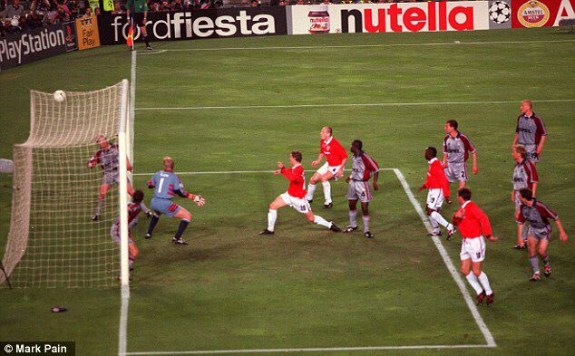 Who Put The Ball In The German S Net Manchester United The Unit Manchester United Football Club