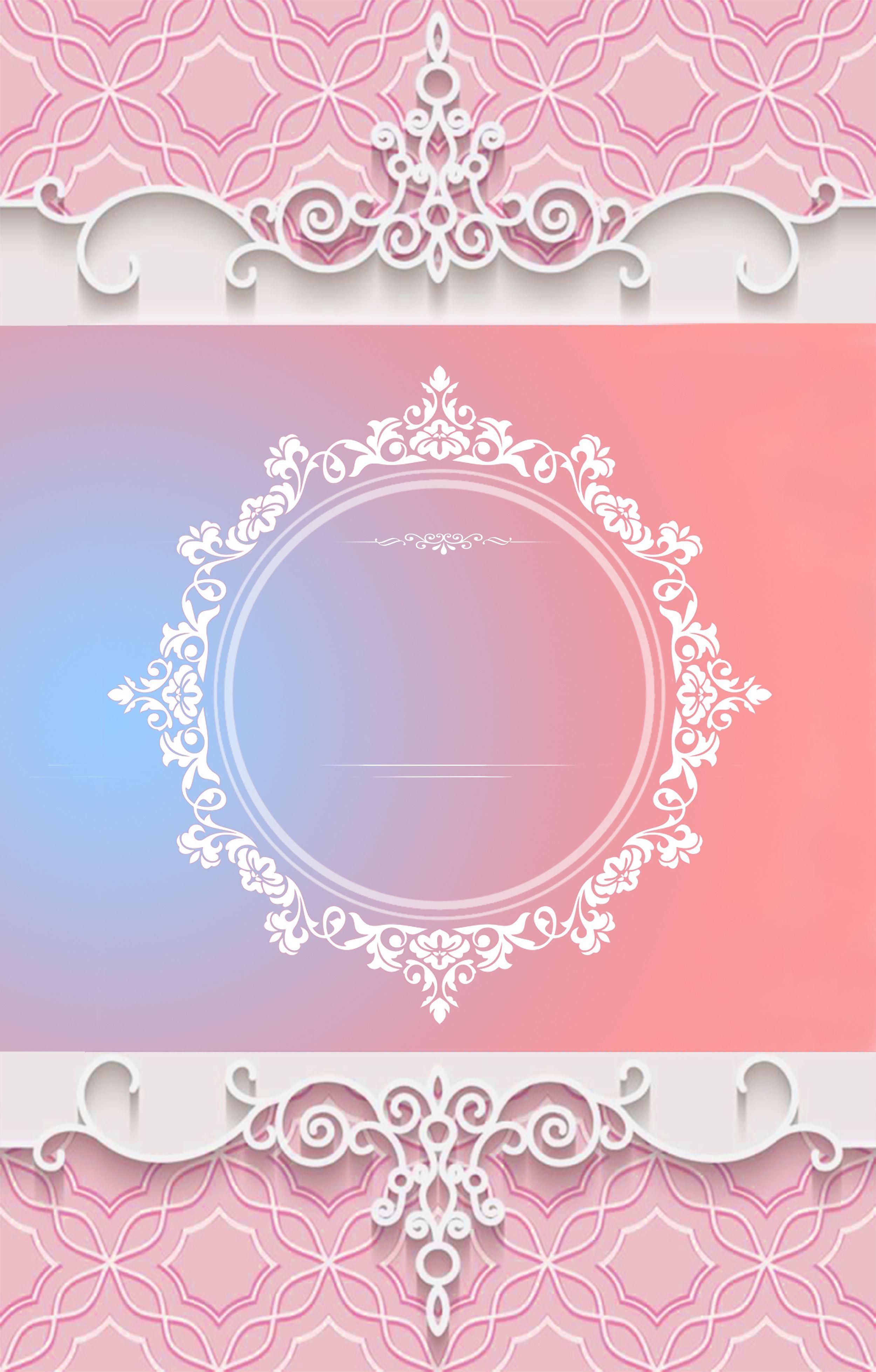 Pink Wedding Welcome Poster Signboard Background Kartu Pernikahan Kartu Contoh Undangan Pernikahan