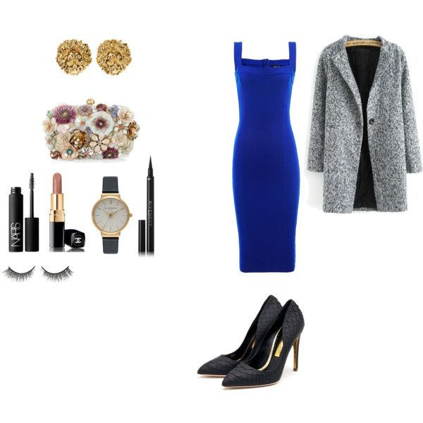 Sam Smith night show by ligia-chiedde on Polyvore featuring moda, Isabel de Pedro, Rupert Sanderson, Accessorize, Versus, Olivia Burton, Chanel, Givenchy and NARS Cosmetics