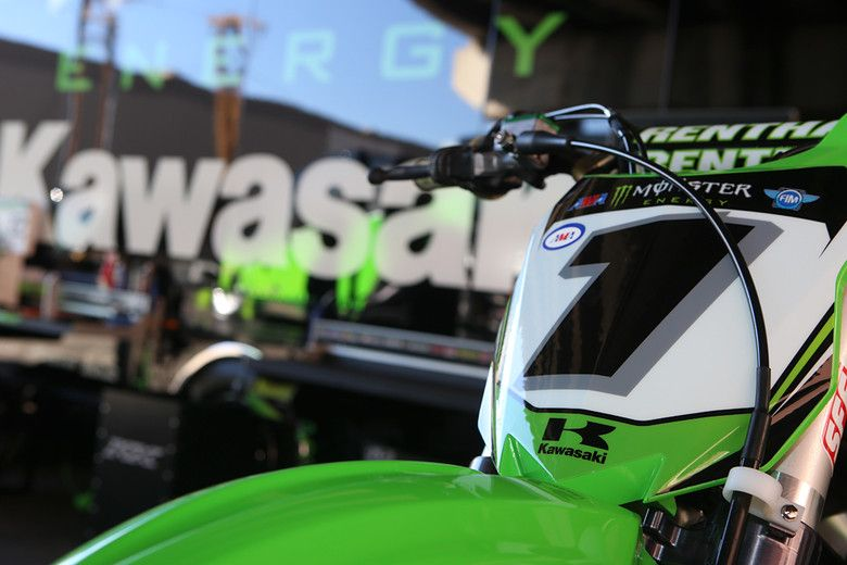 in the pits at phoenix supercross 2014 credit guyb vitalmx our
