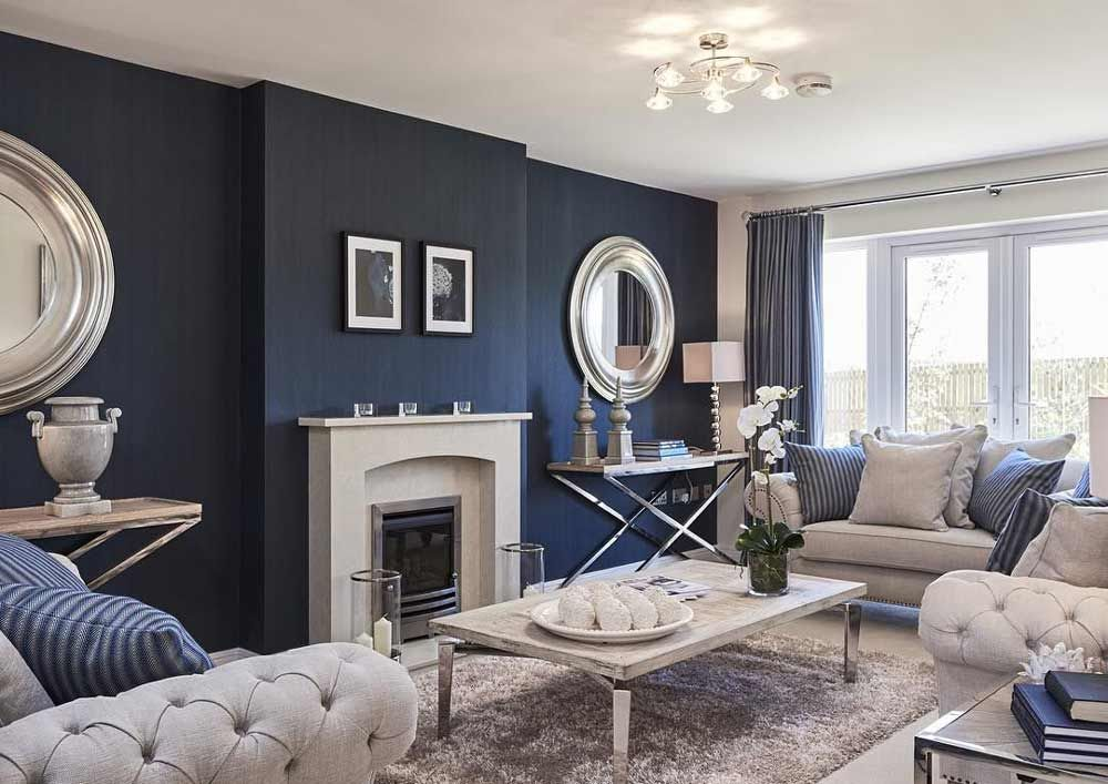 Photo of Beautiful Grey and Navy Living Room Ideas For Your Home