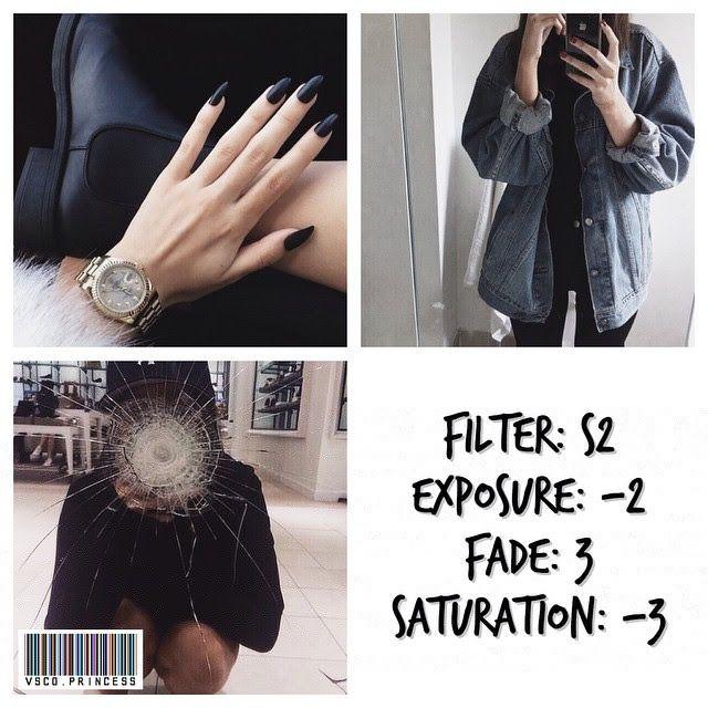 black and white instagram feed VSCO filter S2