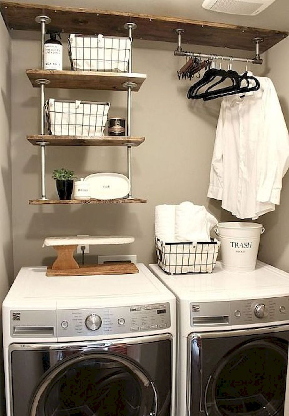 Cool Small Laundry Room Design Ideas (30