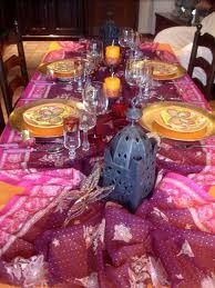 moroccan decor - Buscar con Google. Party Table DecorationsParty ... : moroccan themed table setting - pezcame.com
