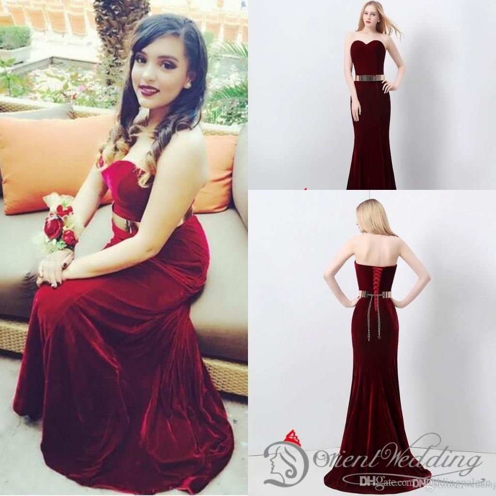 Hot sale in stock free shipping sweetheart neck mermaid evening