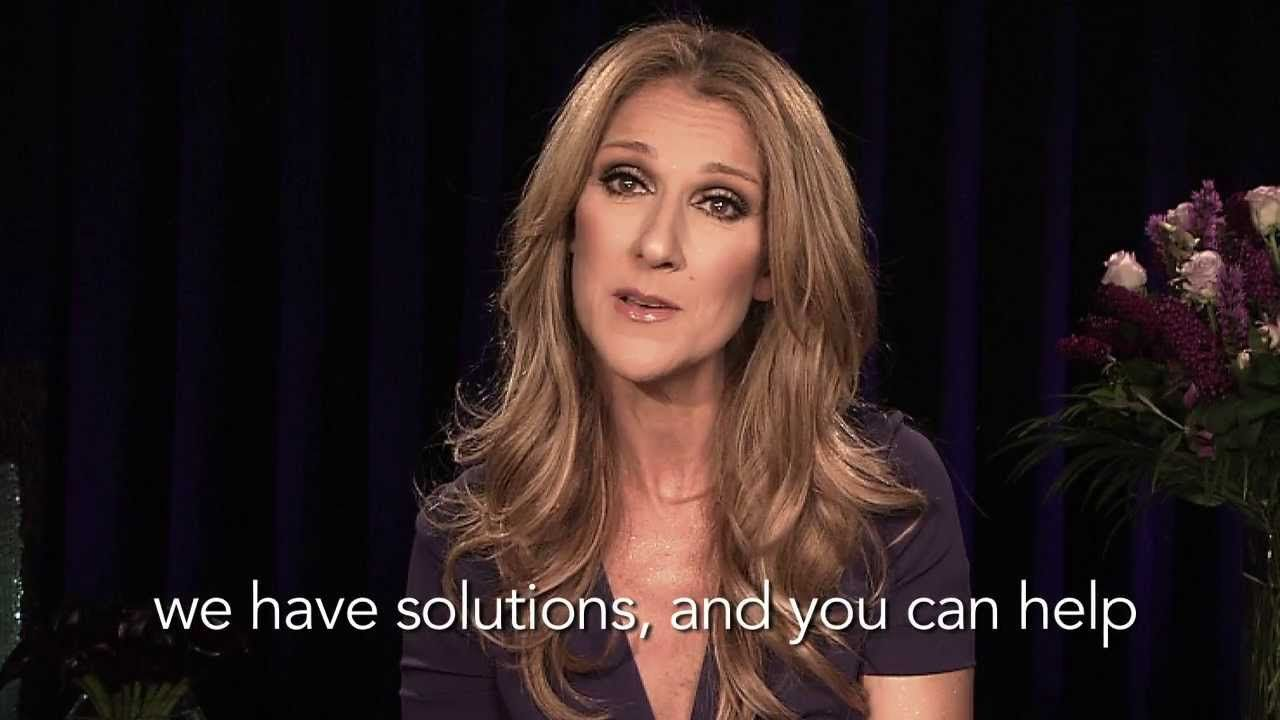 Celine dion world prematurity day with images world