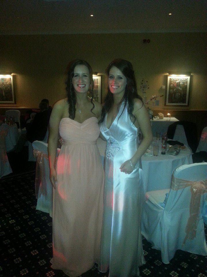 Wedding dress Imari by Jenny Packham. Bridesmaid dress ted baker x ...