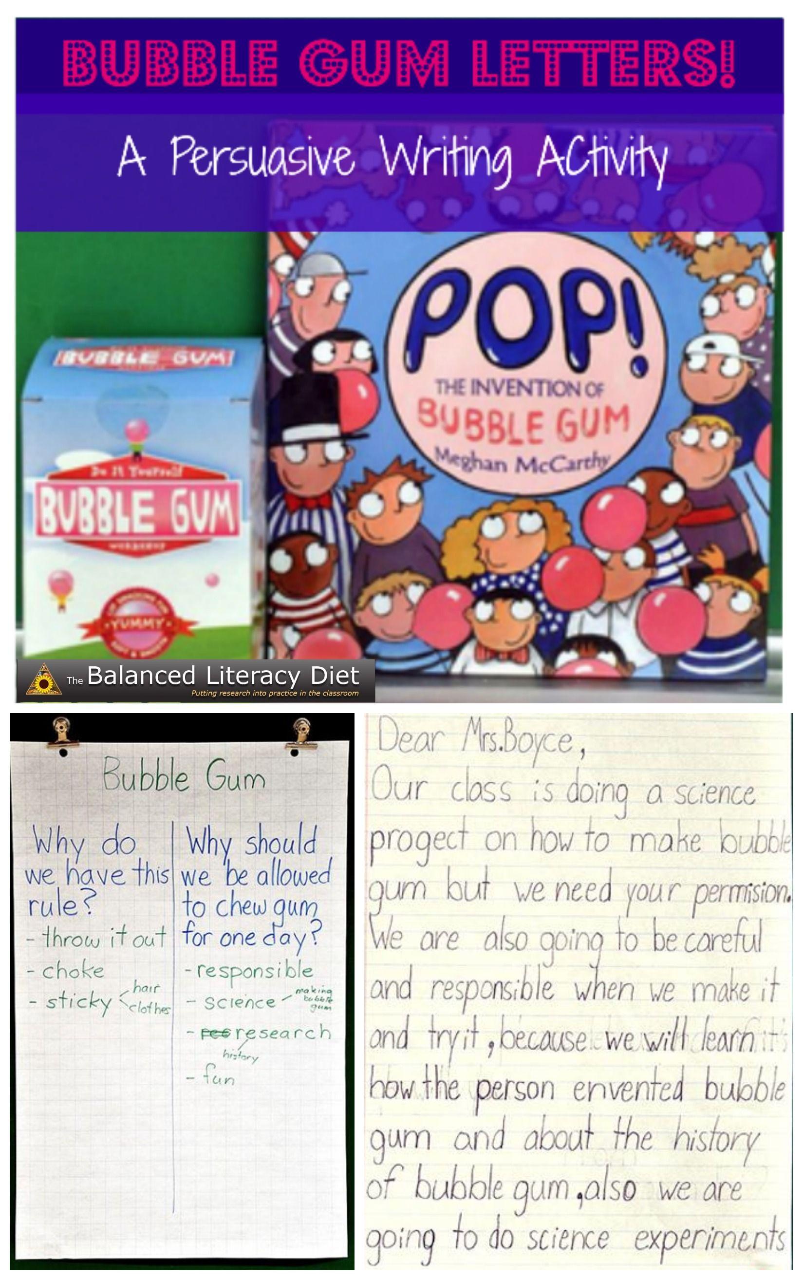 Balancedlit T Gt Bubble Gum Letters Gives Students
