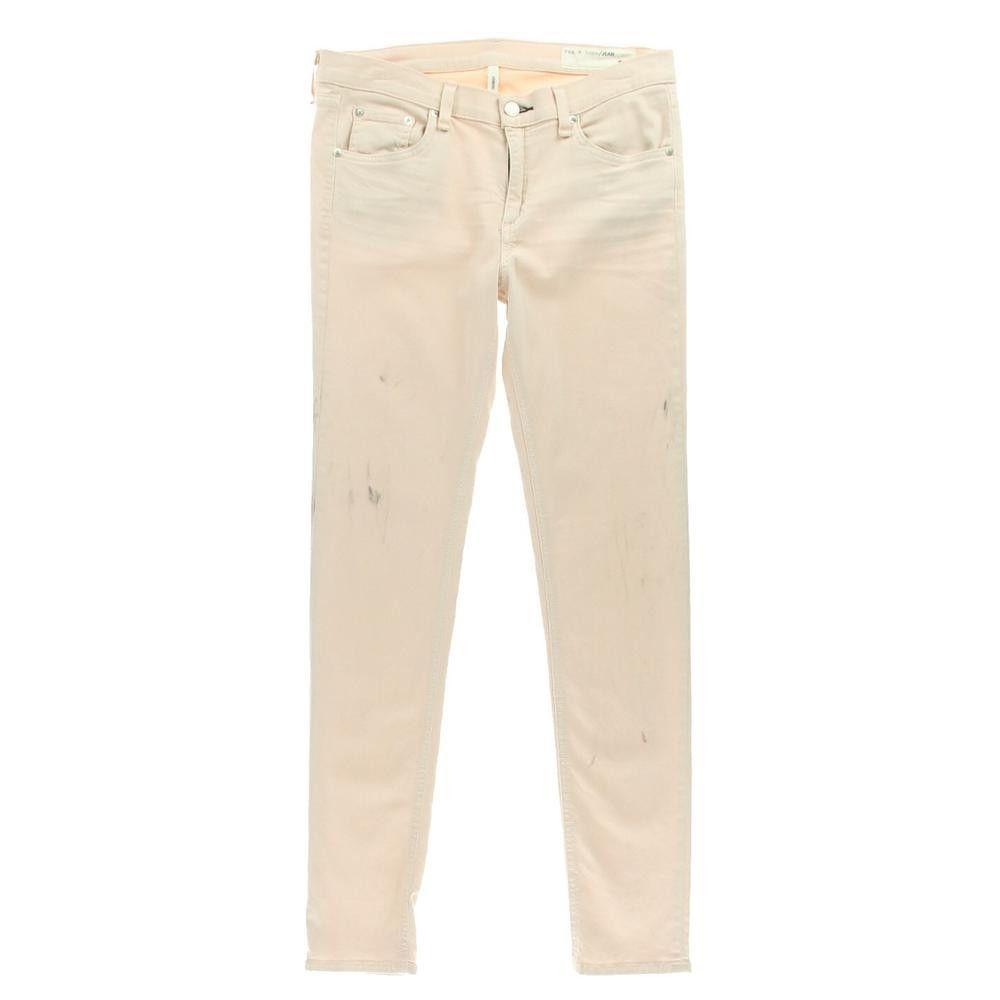 Rag & Bone Womens Denim Low-Rise Colored Skinny Jeans