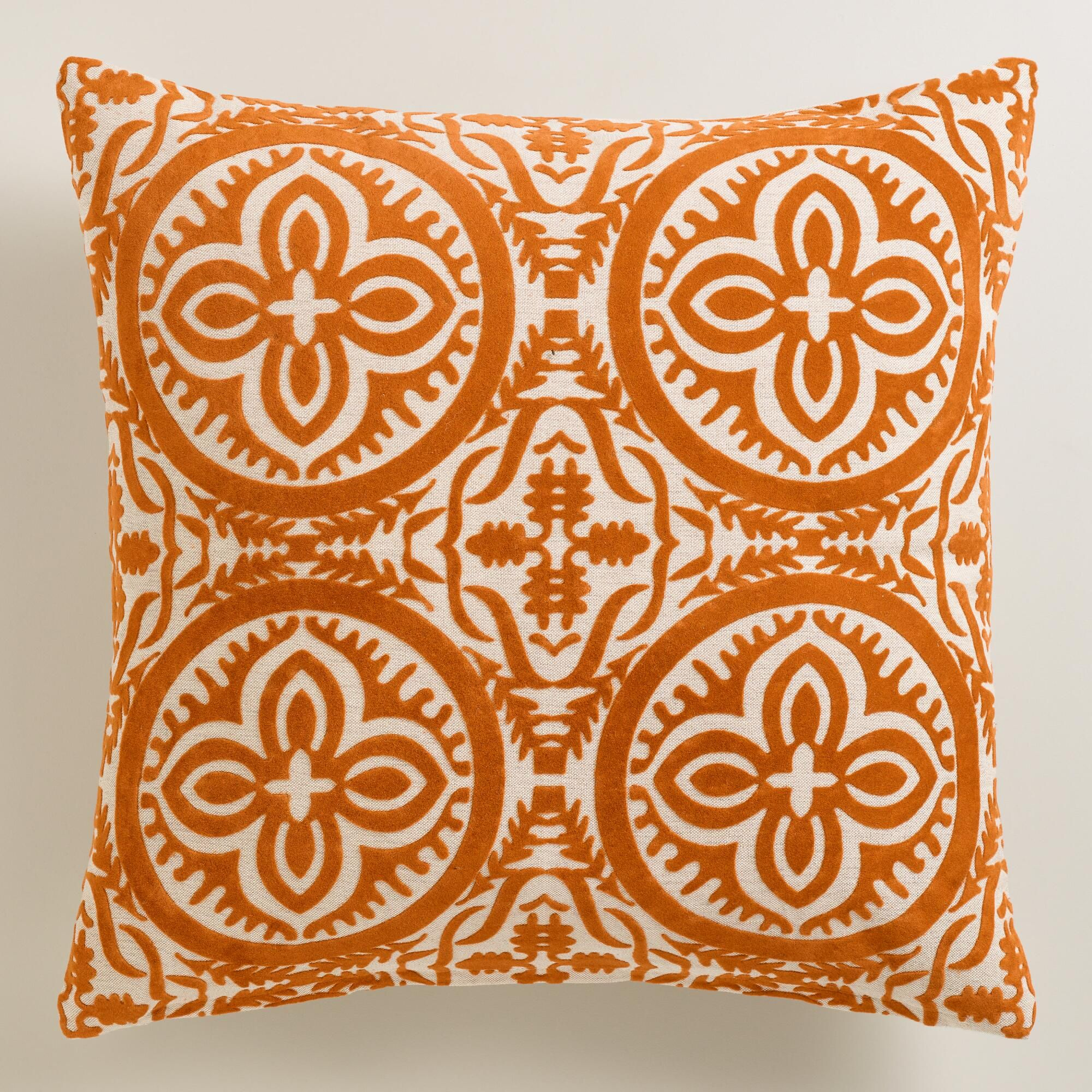 of a these come two pillows set throw pin stylish decorative pillow and knife in edging feature orange
