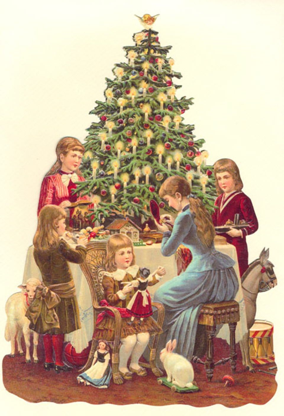 victorian christmas card … | Andre\' Victorian Christmas Ideas 2016 ...