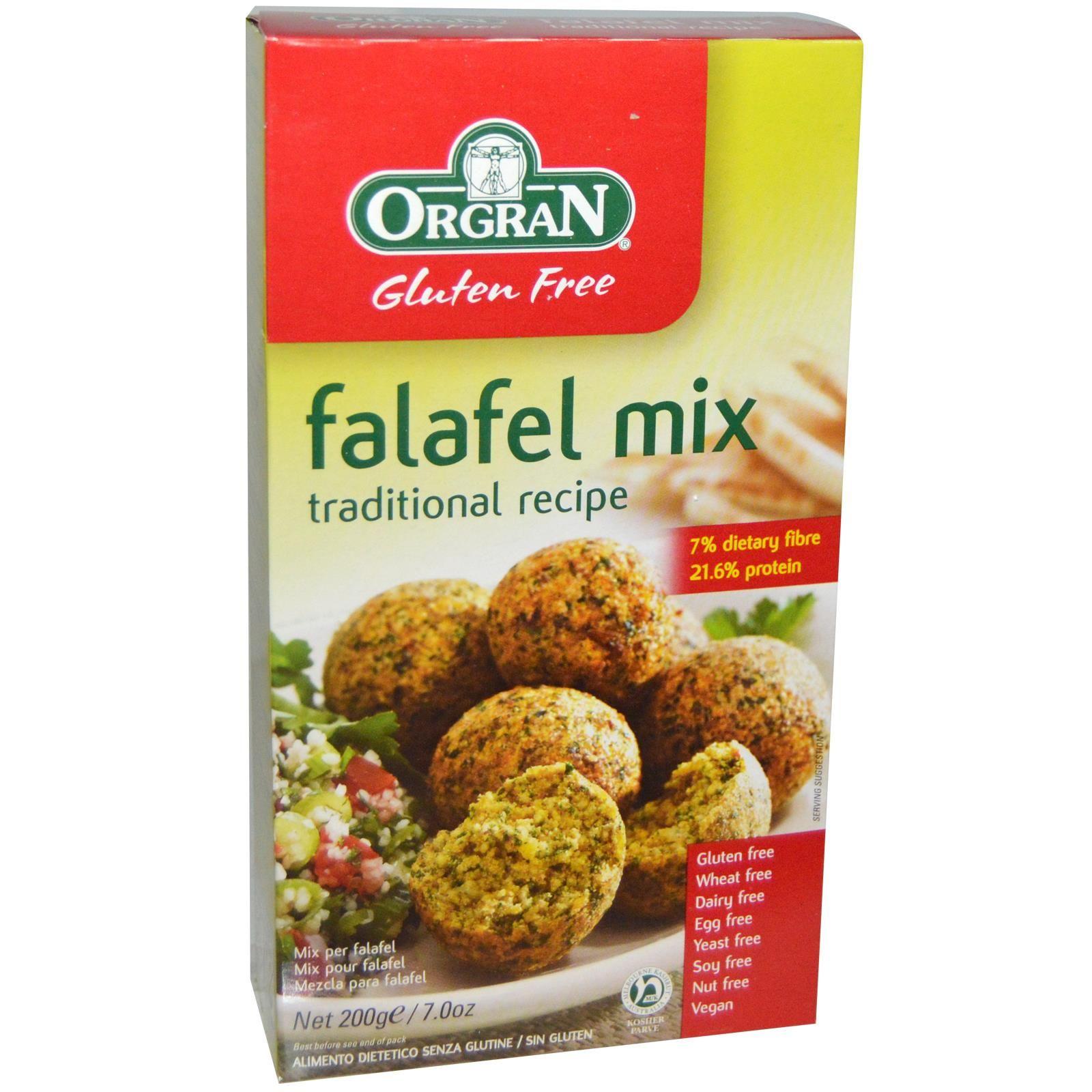 Orgran falafel mix its vegan i make absolutely