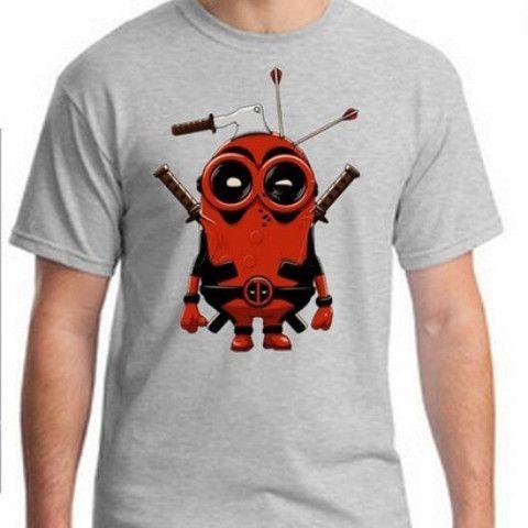 Deadpool Minion Custom T Shirt