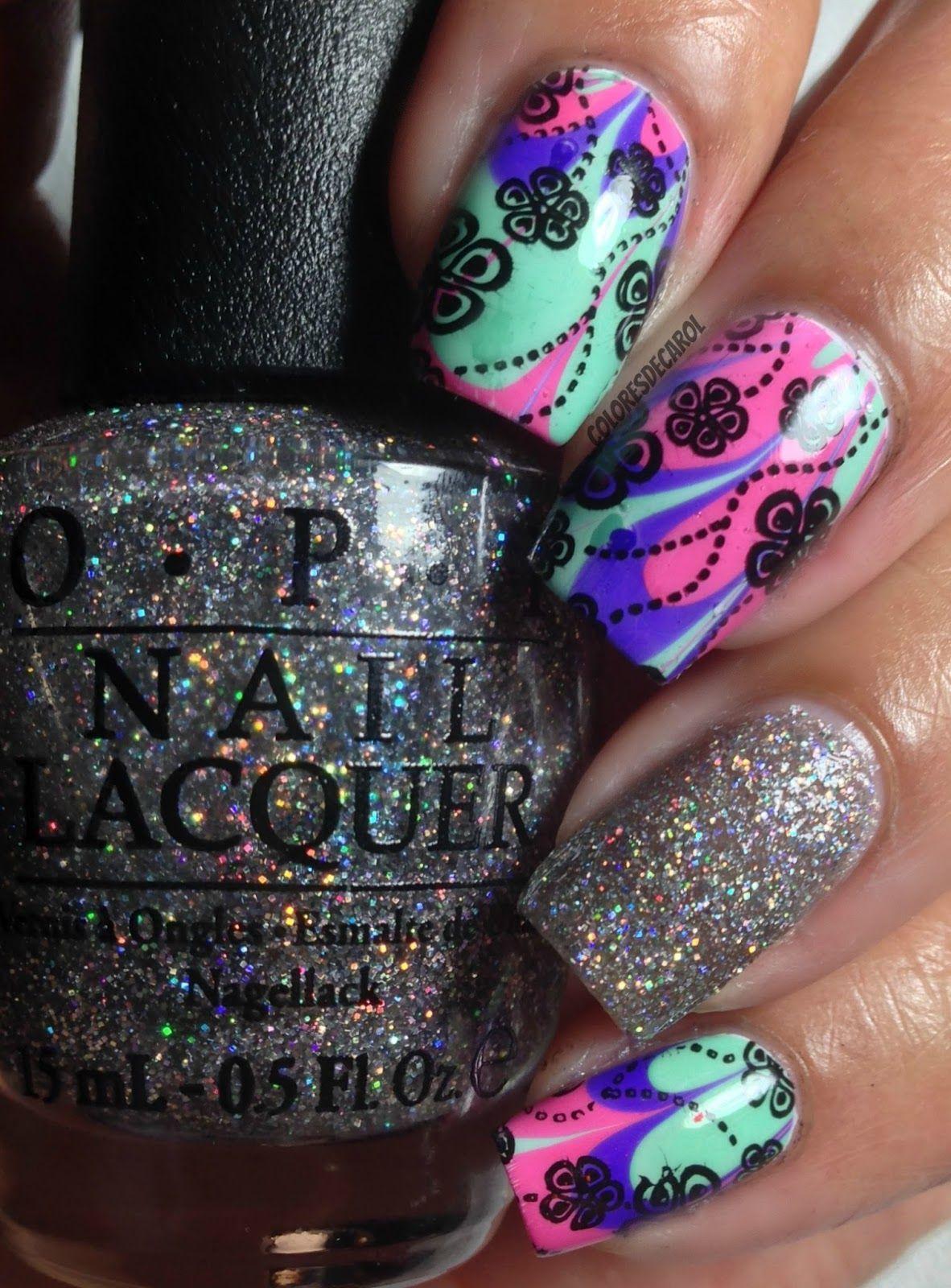 Colores de Carol: Nordic Nail Art