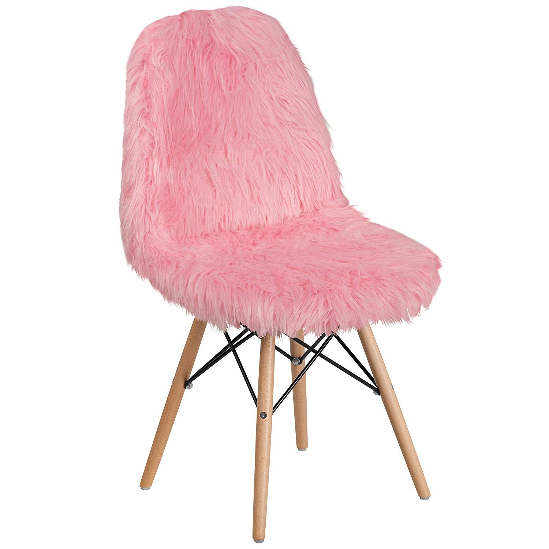 Best Amazon Com Flash Furniture Shaggy Dog Hermosa Pink Accent 400 x 300