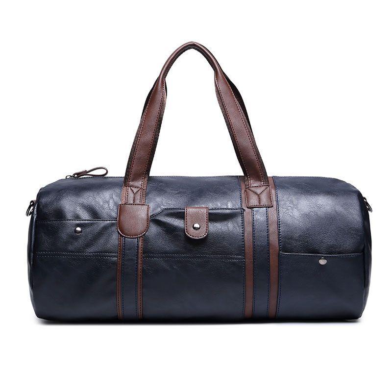 fae2c350279a High Quality Small Business Men leather travel duffle bag sac de voyage  Cossbody Men Bag bolsa de couro masculina 5008