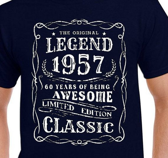 997c6d91e 60th birthday Gift T Shirt for Father Funny 60th Vintage | gift ...