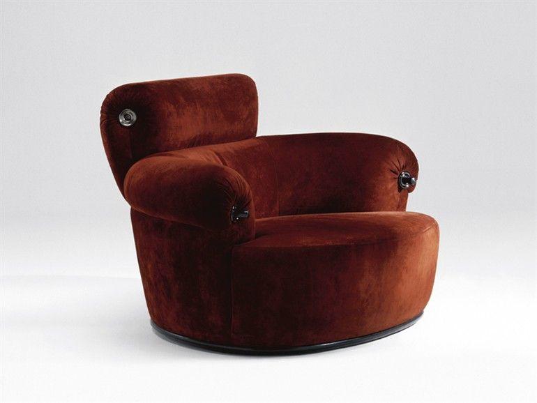 TORO armchair by Luigi Caccia Dominioni 1973 | #LUMISOL