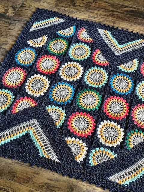 5 Stunning Crochet Blanket Patterns You Should Try! | Manta, Bicolor ...