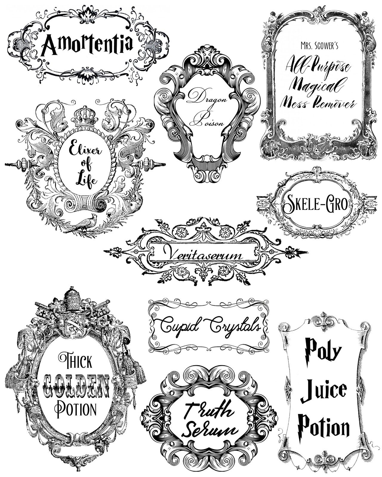 Potions And Poisons In
