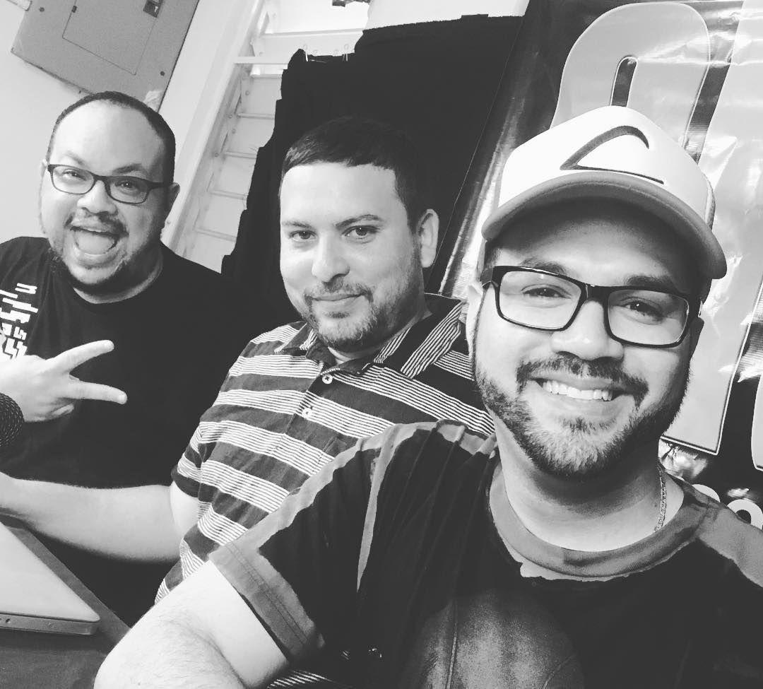 Éxito total el #podcast de hoy! Gracias a Mark de @realprgamer por decir presente. #infogamers