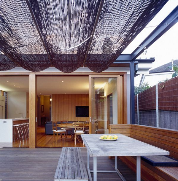 Bamboo Cover Roof Design Covers Ideas For Patio