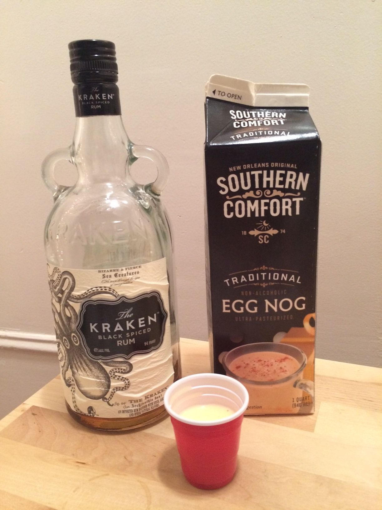 Which Type Of Alcohol Goes Best With Eggnog Southern Comfort