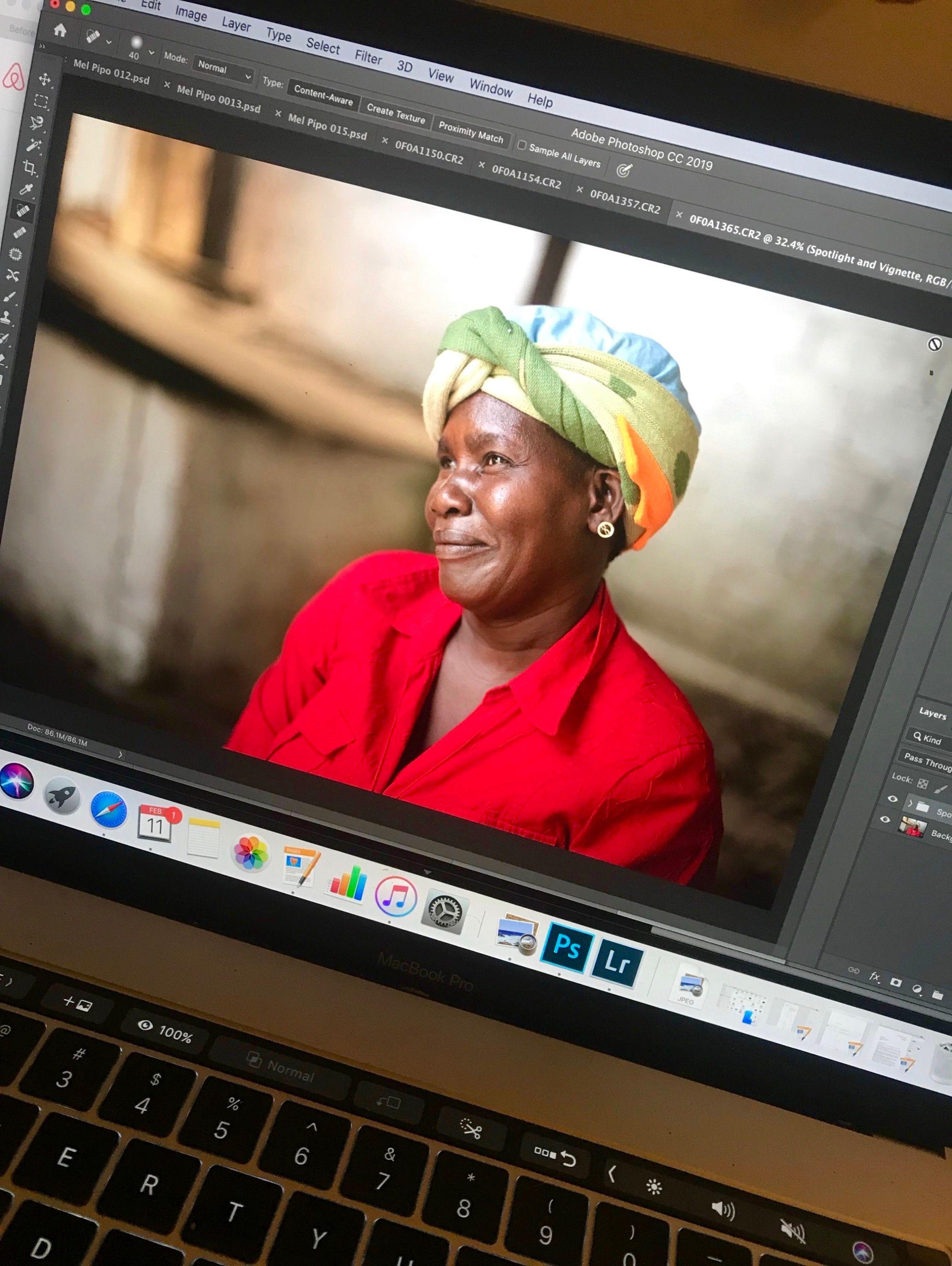 Edits of Jeannine, a school cook from Quartier Morin... her face lights up the sky. ✨ . . #photoedits #behindthescenes #portrait #portraitphotography #artist #creativecommunity #creativeart #creatives #creativeminds #eyephotography #photographer #photographycompany #ayashamedia #mediacompany #haiti #haitianphotography  #PhotographyEveryday #Photogram #JustGoShoot #InstaPhoto #WorldBestGram #PhotographySouls #PhotoOfTheDay #adobeindesign #adobephotoshop