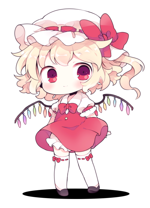 cute flandre scarlet touhou