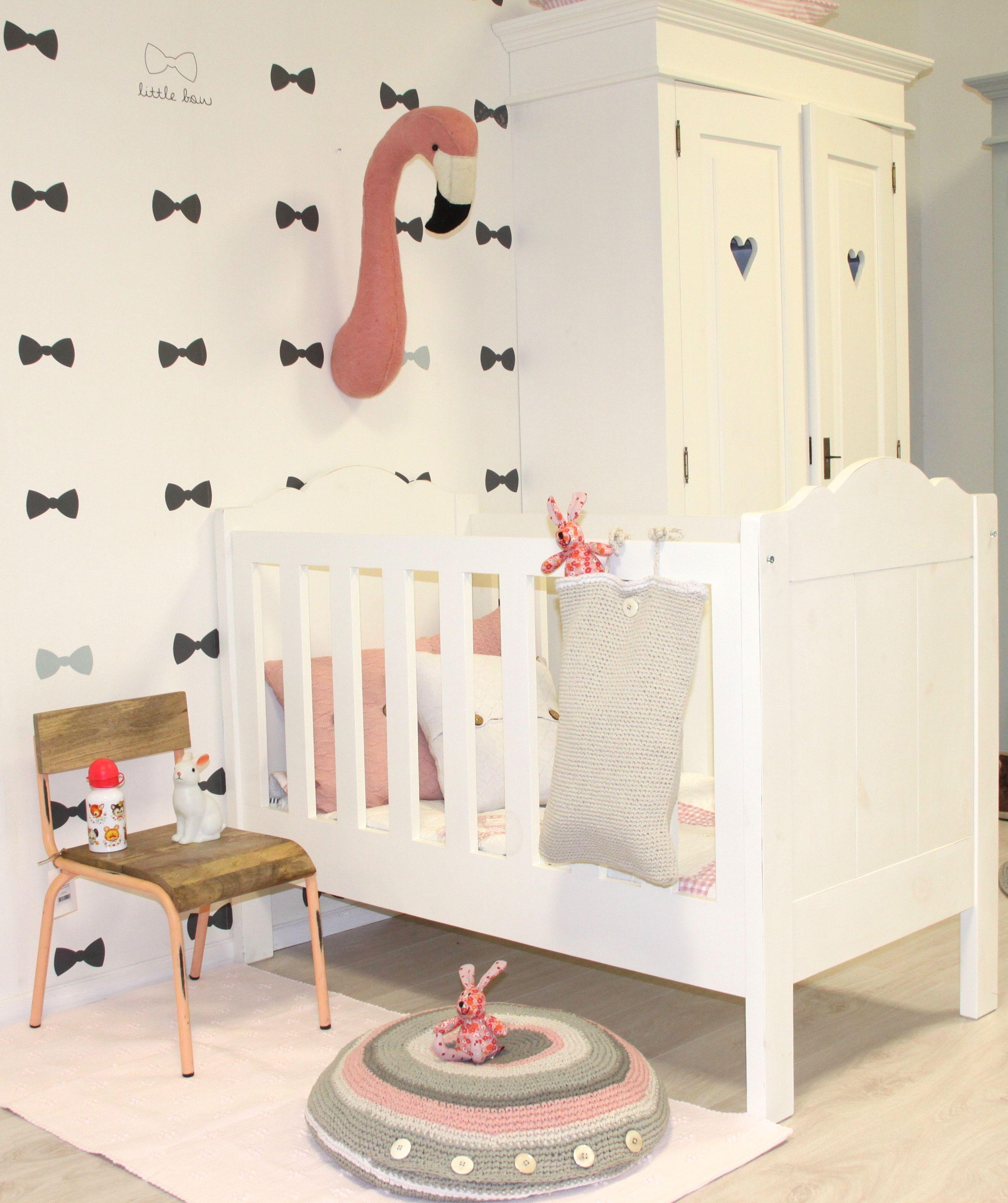 Baby flamingo car interior design - Nursery Babykamer Happy Flamingo