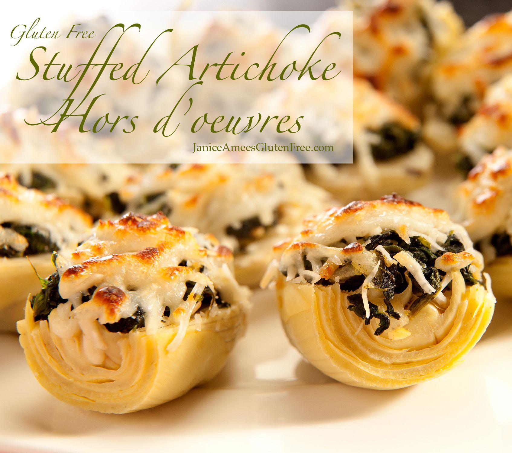 Gluten Free Stuffed Artichoke Hors D'oeuvres By Janice