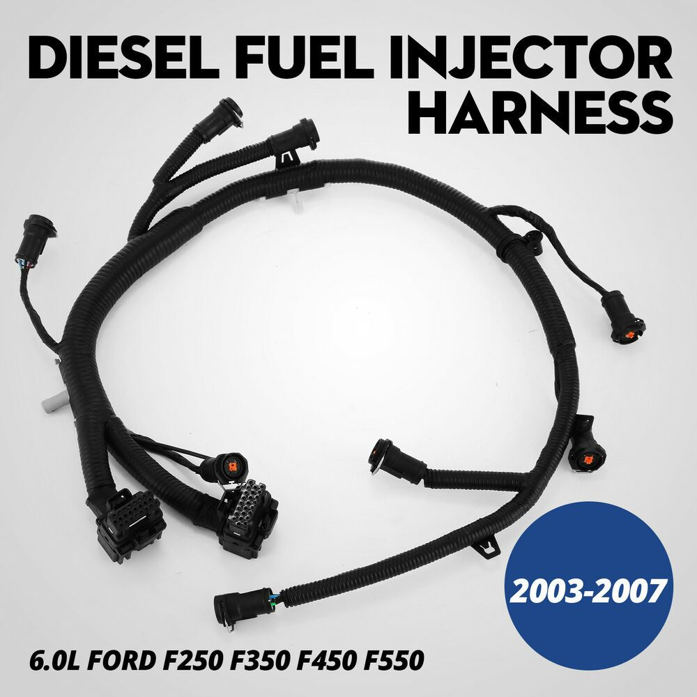 Ebay Sponsored New Fuel Injector Module Wiring Harness For Ford F 350 Super Duty 5c3z9d930a Powerstroke Diesel Ford Excursion Super Duty Trucks
