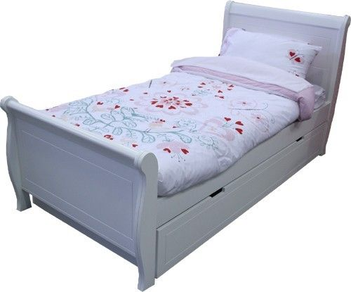 Best King Single Modern Sleigh Bed With King Single Underbed 400 x 300