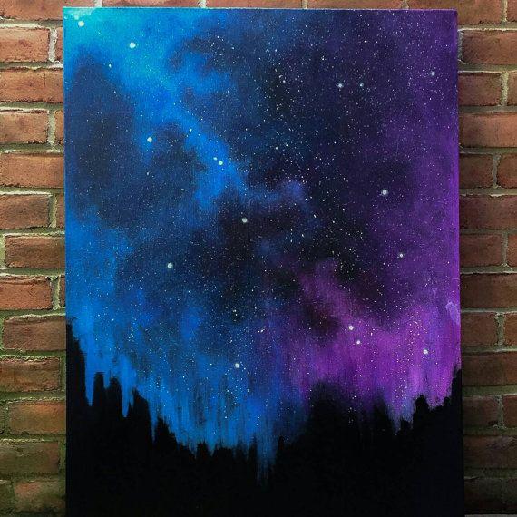 mellow wonder stardust galaxy original art by themindblossom art ideas pinterest. Black Bedroom Furniture Sets. Home Design Ideas