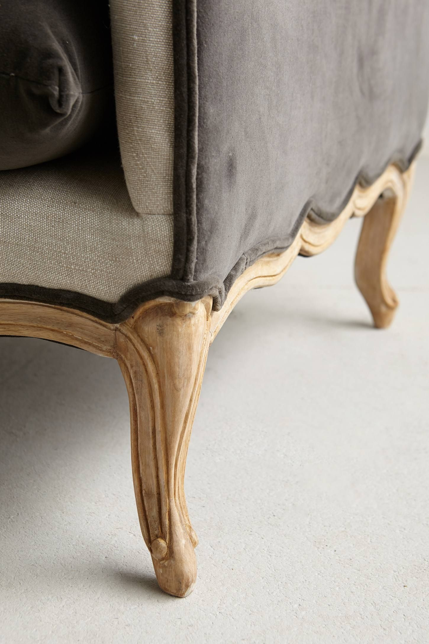 Vilas Velvet Daybed (With images)   Sofa