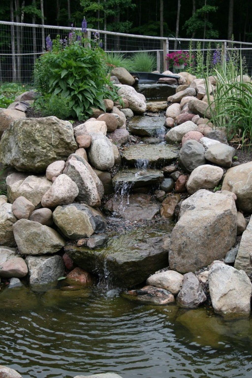 Backyard pond waterfall 3 | Waterfalls backyard, Ponds ... on Small Backyard Pond With Waterfall  id=26219