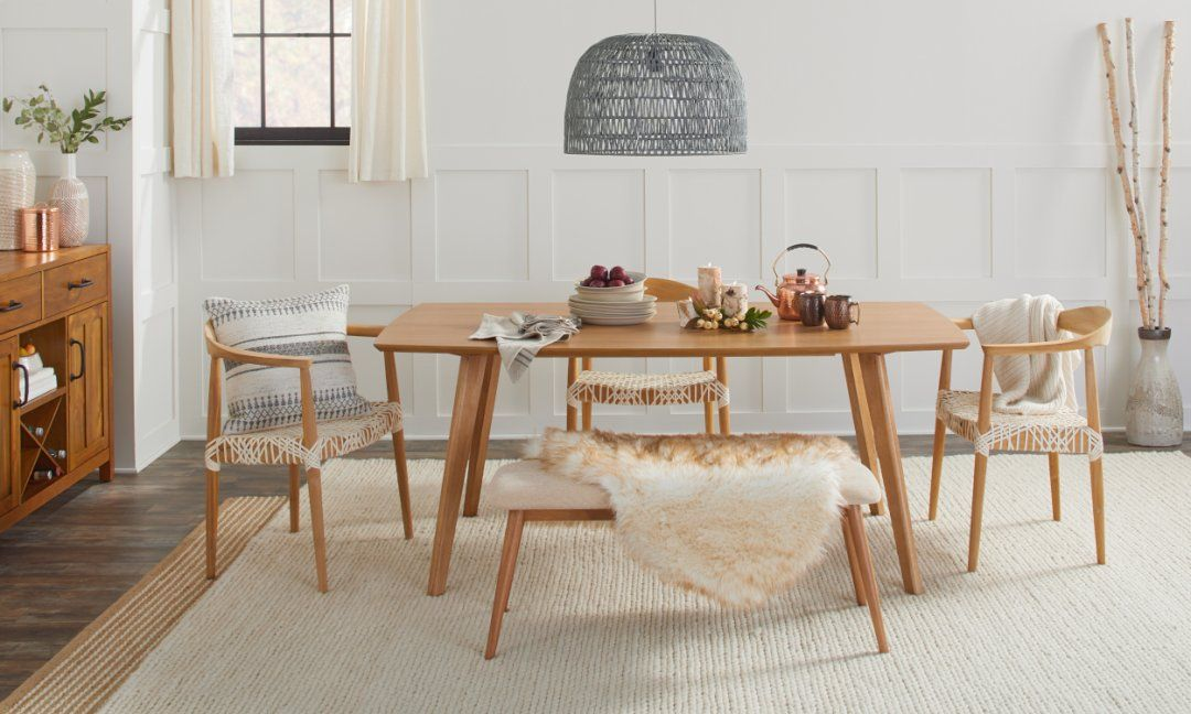 45+ Scandi dining table and bench Ideas