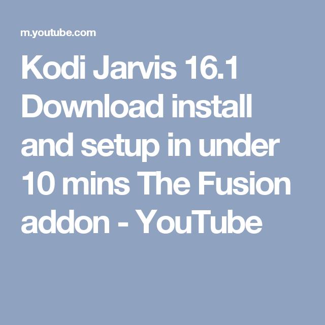 kodi jarvis 16.1 android download