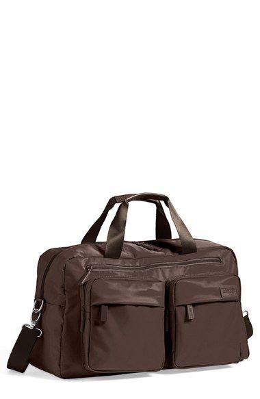 Men S Lipault Paris Weekend Bag Brown 19