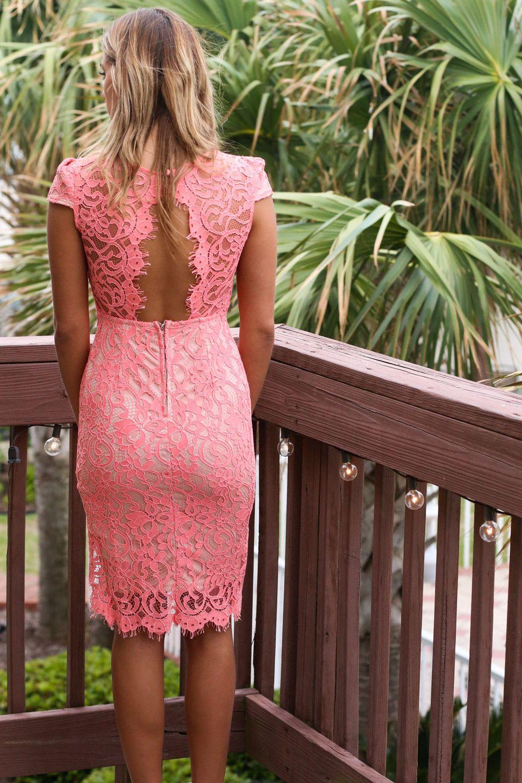 I Pink I Can Lace Dress | cute outfits | Pinterest | Estudiantes, Mi ...