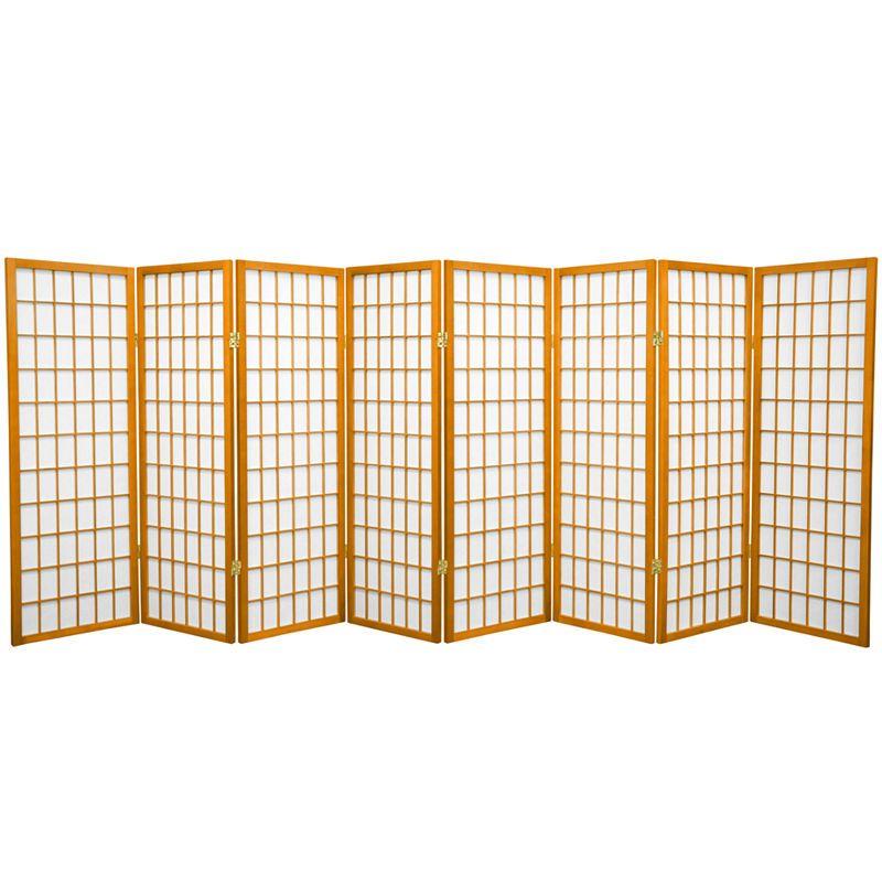 Oriental Furniture 4 Ft Tall Window Pane Shoji Screen Room Divider