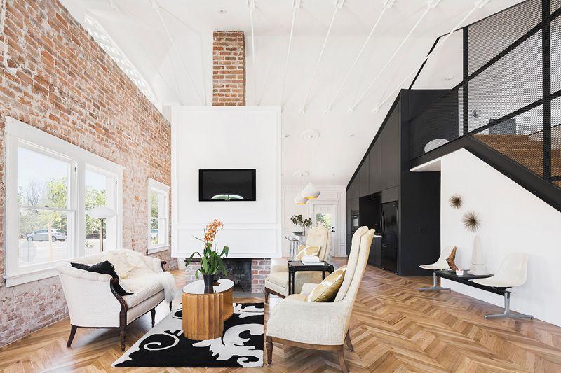 Contemporary Duplex Apartment Interior In Phoenix Arizona