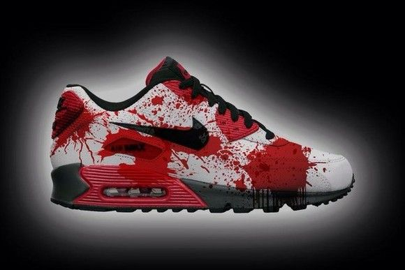 Nike Air Max 90 Candy Drip Halloween Festival Shoes Cheap - Hot For 2016  Halloween Festival, get a Free pair of Cotton Socks!