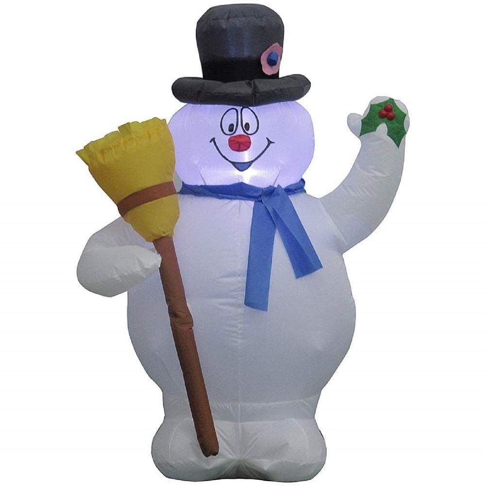 Frosty the snowman inflatable 35 feet tall you can