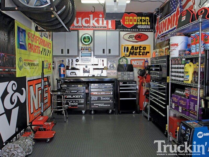 Third Car Garage With Images Garage Workshop