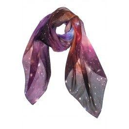 Hydrus Galaxy Silk Scarf